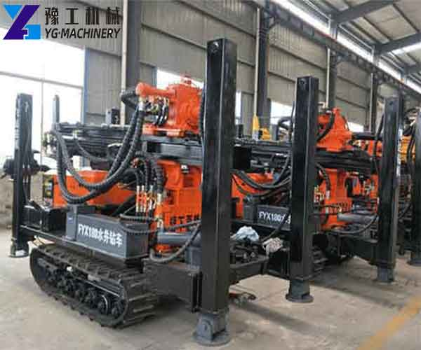 Crawler Water Well Drilling Rigs for Sale