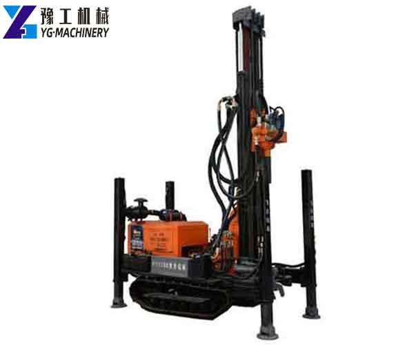 Crawler Water Well Drilling Rig for Sale in Pakistan
