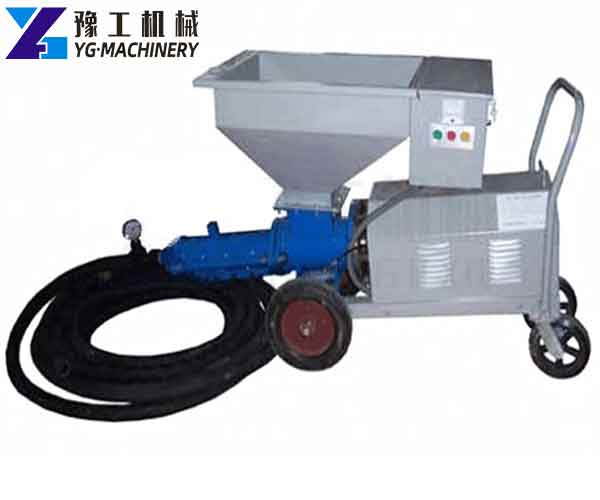 Screw Grouting Pump for Sale in Indonesia
