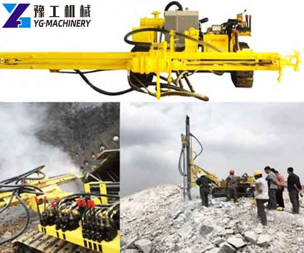 SKL-100T Crawler DTH Drilling Rigs for Sale