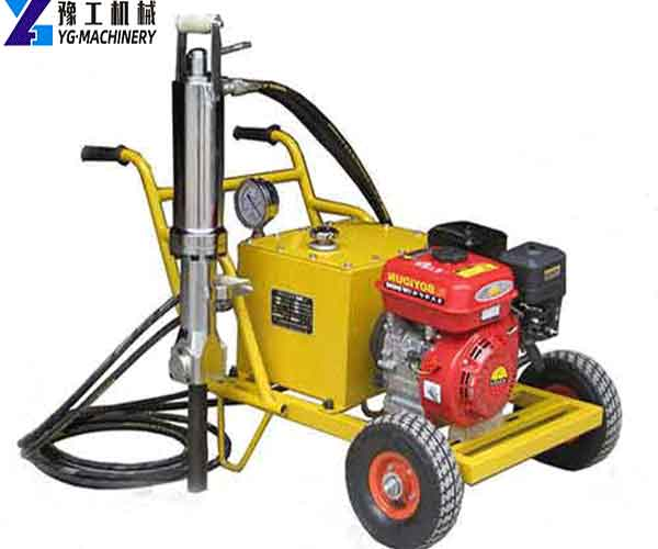Hydraulic Rock Splitter Machine
