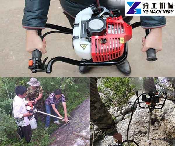 Backpack Core Drill Application
