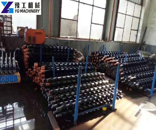 Crawler Anchor Drilling Rig Pipes
