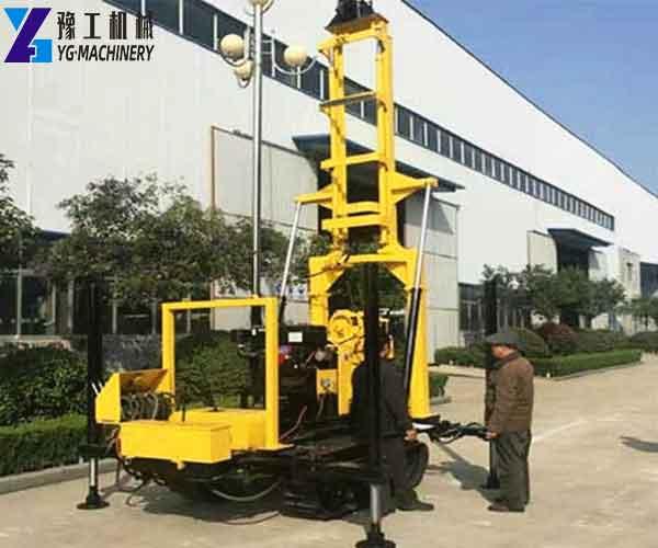 Crawler DTH Drill Machine