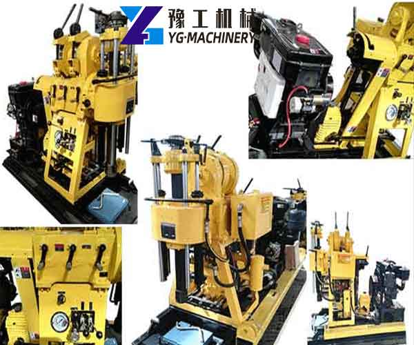 Details of Hydraulic Core Drill Rig