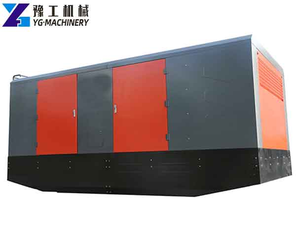 Diesel Stationary Screw Air Compressor Special for Deep Well Drilling