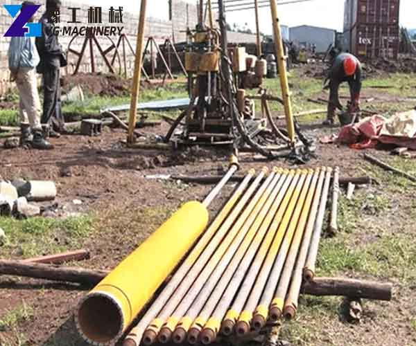 Drill Pipe Application in Engineering Project