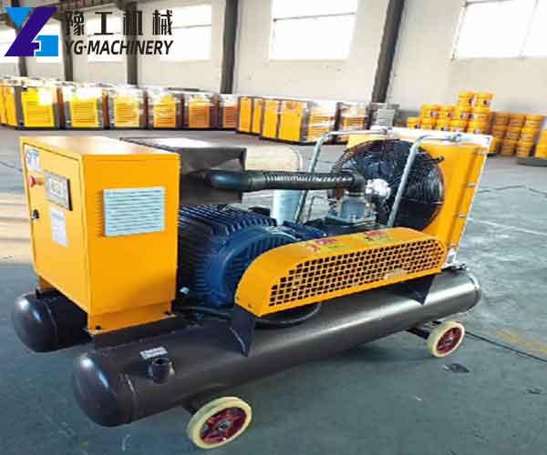 Electric Motor Driven Portable Screw Air Compressors