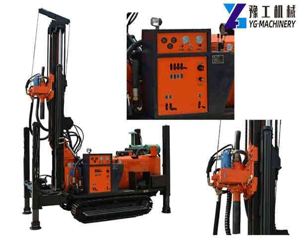 FY200 Crawler Water Well Drilling Rig
