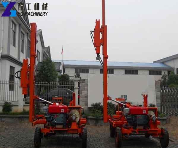 Folding Type Hydraulic Pile Driver