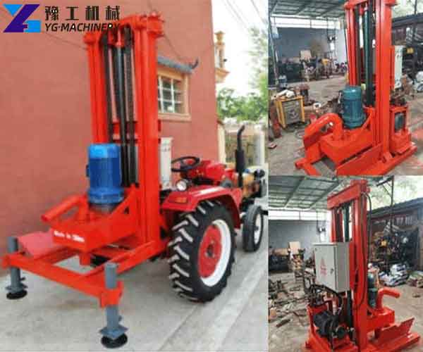 HY-500 Tractor Mounted Drilling Rigs