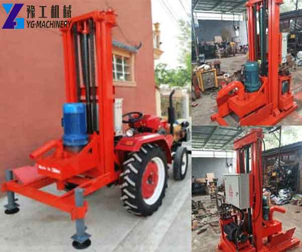 HY500 Tractor Mounted Water Well Drilling Rig