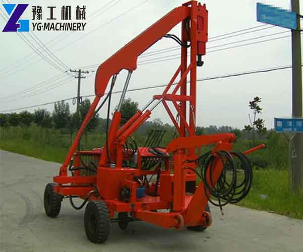 Mobile Hydraulic Drilling Rig