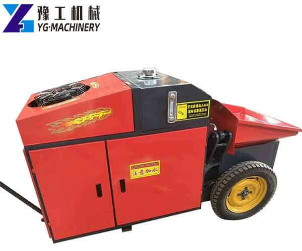 Small Portable Concrete Pump