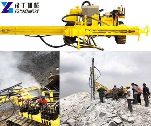 SKL-100T Crawler DTH Drilling Rigs