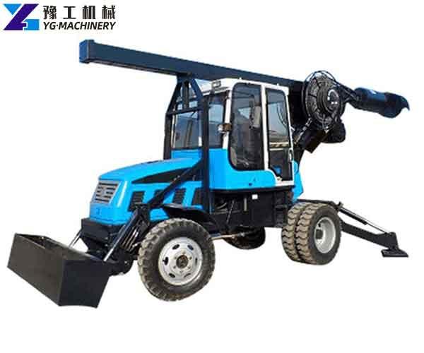 Wheeled Pile Driver Manufacturer