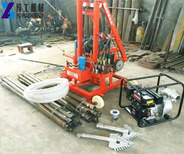 ZX220 Portable Water Well Drilling Rig